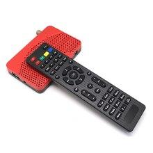 Mini Taille HD 1080 P DVB-S2 Numérique Par Satellite Récepteur TV Tuner décodeur FTA Youtube USB PVR Cccam Newcam CS Puissance IPTV récepteur