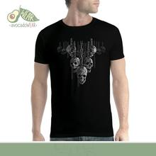 Hanging Out Skulls Men T-shirt XS-5XL NewStreetwear Funny Print Clothing Hip-Tope Mans T-Shirt Tops Tees Hot Sale Men T Shirt floral skull women t shirt s 3xl newstreetwear funny print clothing hip tope mans t shirt tops tees hot sale men t shirt fashion