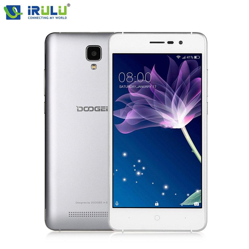 X10 5 ''android 6.0 mtk6570 doogee teléfono móvil dual core 3g WCDMA 512 MB RAM