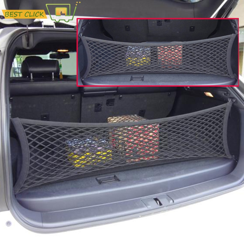 Review Fit For LEXUS RX270 RX350 RX400H Envelope Rear Trunk Cargo Net Hook Mesh Elastic Luggage Car Accessories 90 30cm in Stowing Tidying from Automobiles Beautiful - Amazing trunk luggage Simple Elegant