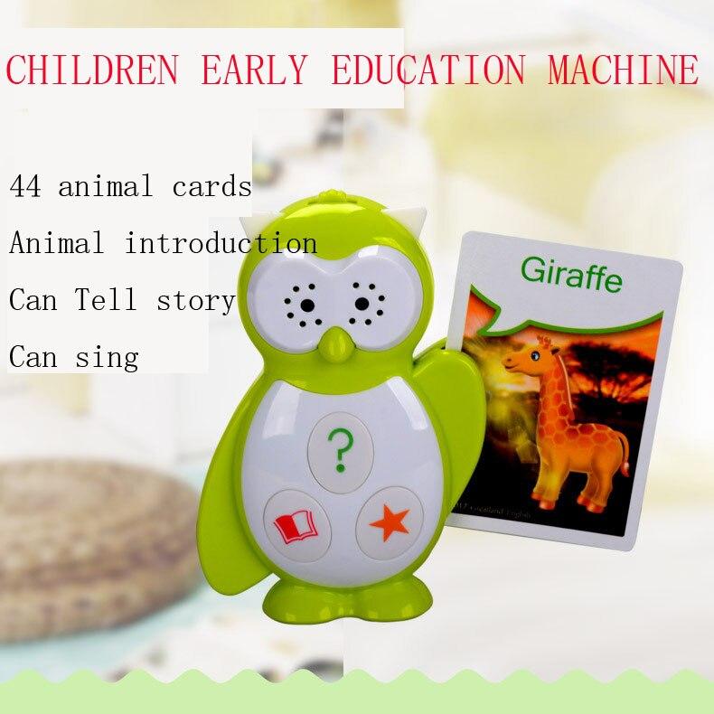Multifonction enfants histoire machine éducation précoce machine point machine de lecture Animal carte chanter jouet pour enfants cadeau
