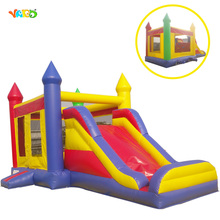 Fashion Inflatable Bouncer Jumping Castle with Slide for Hire Business