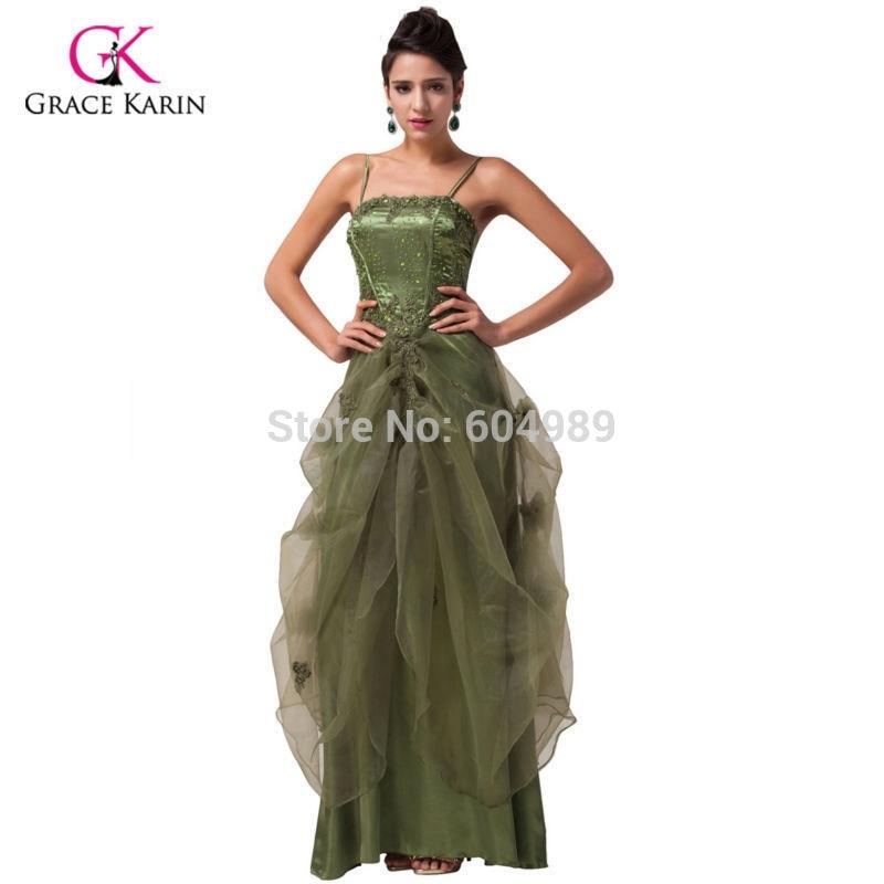 ᗕFree Shipping Grace Karin Pretty Long Black White Burgundy Green ...
