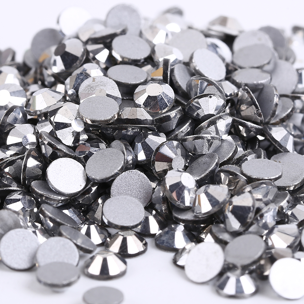 SS30 Silver Hematite color 288pcs Non Hotfix Rhinestones 6.3-6.5mm 20ss crystal flatback Nail Art Rhinestones diysecur 4pin dc12v 24v 7 inch 4 split quad lcd screen display rear view video security monitor for car truck bus cctv camera
