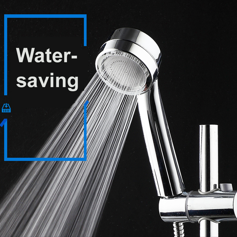 lhx fyp145 water handheld shower head pressure boosting power massage shower with arm showerhead bathroom accessory