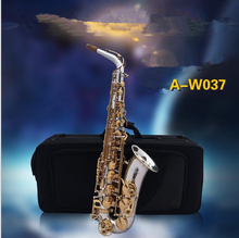 2017 HOT NEW origina W037 gold-plated sterling alto saxophone Professional class instrument