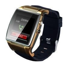 Bluetooth Smart Handgelenk Hallo Uhr 2 Telefon L18 SmartWatch Uhr mit GSM/GPRS SIM-TF-KARTE 2MP Kamera FM Radio für Android Smartphone