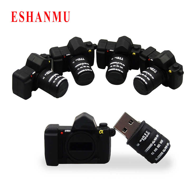 2017 Eshanmu Brand Quality Camera 4GB 8GB 16GB 32GB 64GB Usb Flash Drive USB 2.0 Creative Gift Pendrive Bulk Cheap