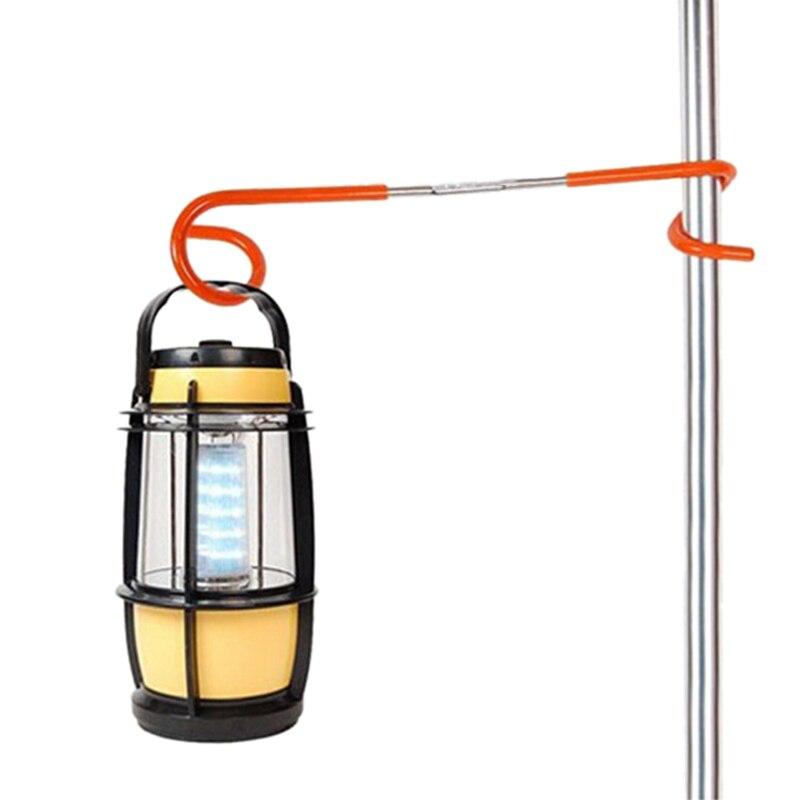 2 Voies Lumière Lampe Lanterne Crochet Cintre Camping Chasse Pêche Tente pôles