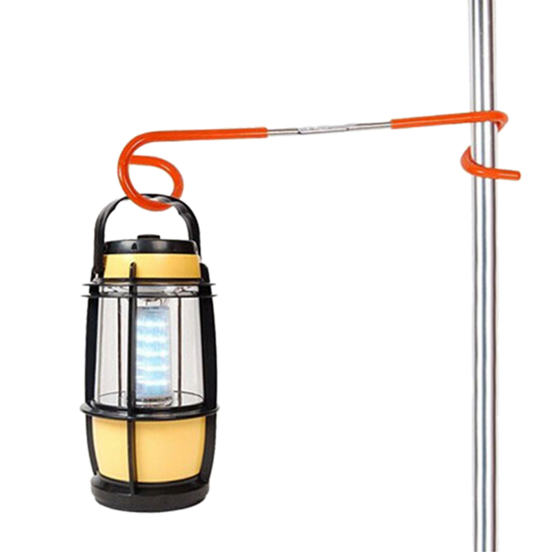 Outdoor Tent Light Hook Lantern Light Lamp Hanger Tent Pole Post Hooks Holder Camping Hunting Fishing Aid