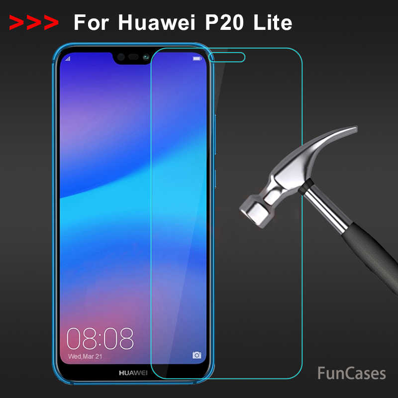Tempered Glass for Huawei P20 Lite Screen Protector 9H 2.5D Toughened Phone Protective Film for Huawei P20 Lite Glass Hawaii