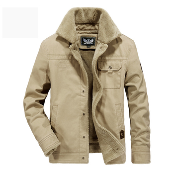 AFS JEEP men winter jacket brand military fleece thick winter coat men parka hombre army style warm windbreakers for men