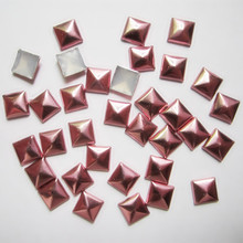 Clothing Garment-Accessories Square Metal Pyramid Hot-Fix Copper SINUAN Studs Spikes