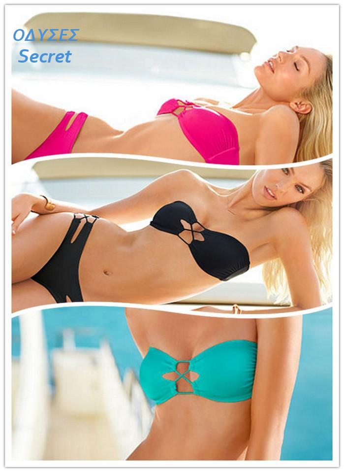 2a646d5207 Sexy Lady Swimsuit Hot Padded Bikini Set 2 piece Women swimwear Cute Girl  Summer Beach Dress Bra Wear elastic Bathing Suit KTA on Aliexpress.com