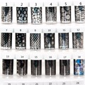12pcs Nail Art Transfer Foil Sticker Paper DIY Beauty Polish Design Stylish Nail Decoration Tools 51colors Options