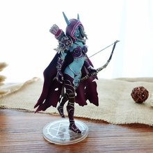 14cm Darkness Ranger Lady Sylvanas Windrunner Figure Toys PVC Action Figure Collection Model Toy Birthday Gifts cataclysm lady sylvanas windrunner action figure pvc collection model toys
