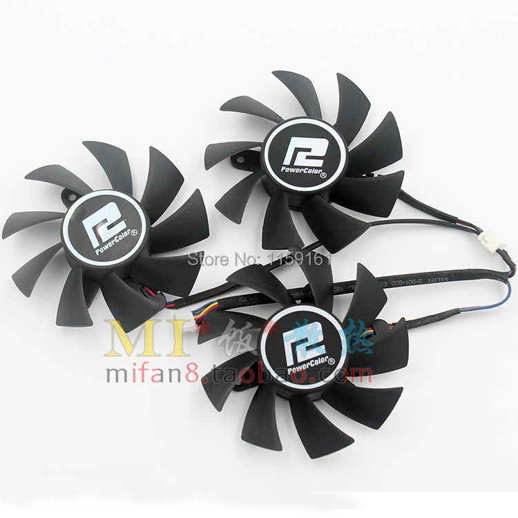 Free shiiping 3pcs/lot Dataland R9 290/290X PLA08015D12HH ball-and-roller graphics card fan free shiiping 3pcs lot dataland r9 290 290x pla08015d12hh ball and roller graphics card fan