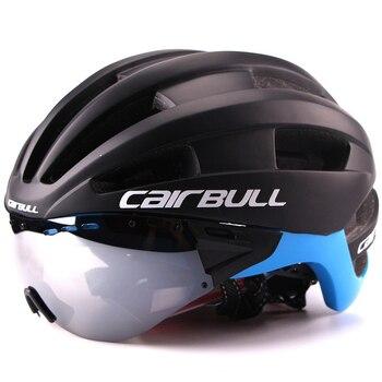 235 גרם Aero קל במיוחד Goggle קסדת בטיחות קסדת אופני כביש ספורט אופני רכיבה על אופניים מירוץ בעובש TT אופני כביש קסדת 9 צבע