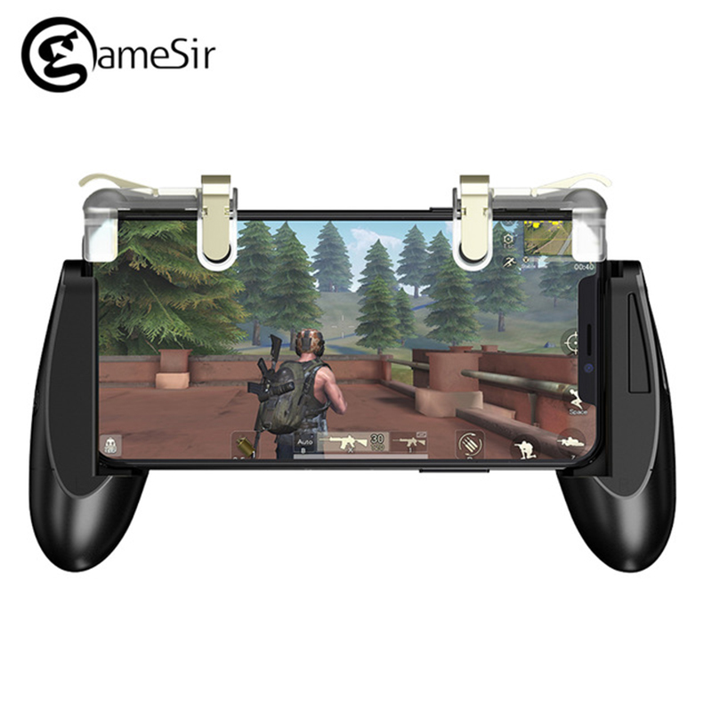 GameSir F2 Gamepad Firestick Grip Game Mount Bracket Trigger Fire Button Joystick Remote Controller for AndriodiOSPhone