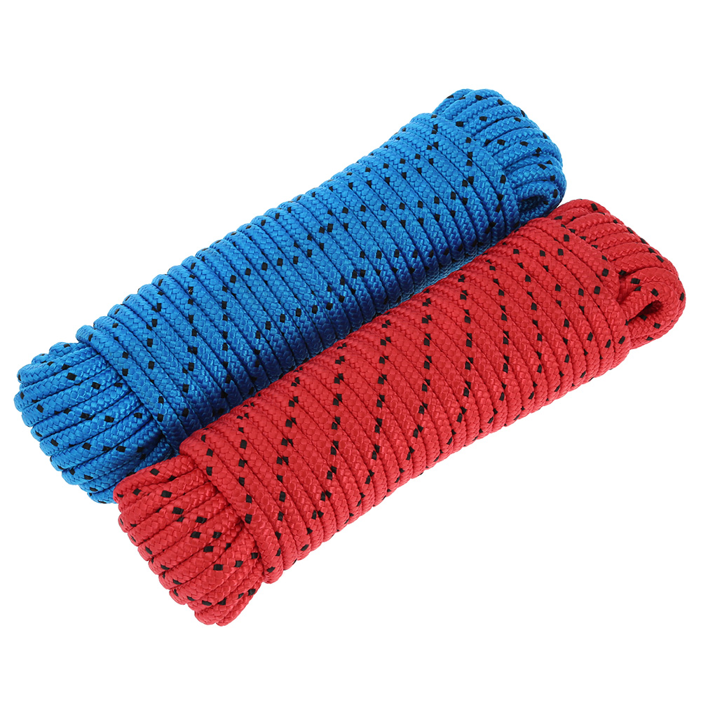 20m High Strength Woven Paracord Rope For Outdoor Climbing Rope Mountaineering Emergency Rescue 8mm 2 Tons