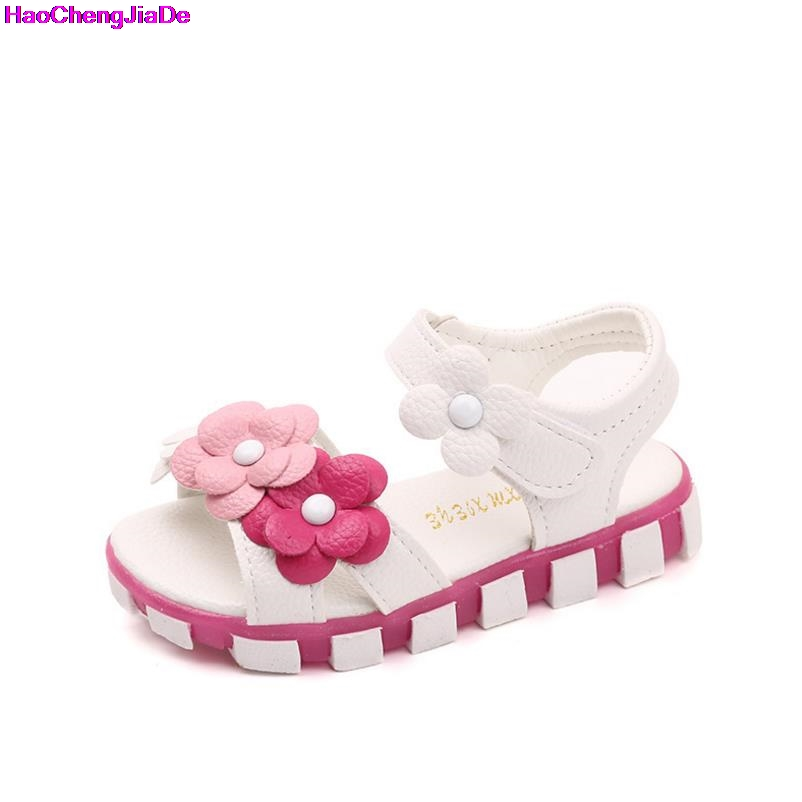 HaoChengJiaDe Girls Sandals 2018 New Large Fish Mouth Princess Shoes Childrens Beach Shoes Primary School Students Summer FlatHaoChengJiaDe Girls Sandals 2018 New Large Fish Mouth Princess Shoes Childrens Beach Shoes Primary School Students Summer Flat