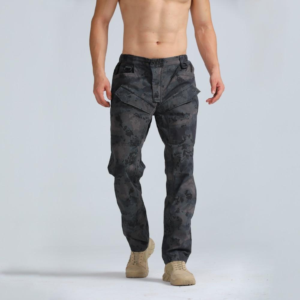 2019 nouveau pantalon tactique camouflage étanche WarGame Cargo hommes pantalon armée militaire actif pantalon tir urbain Paitball
