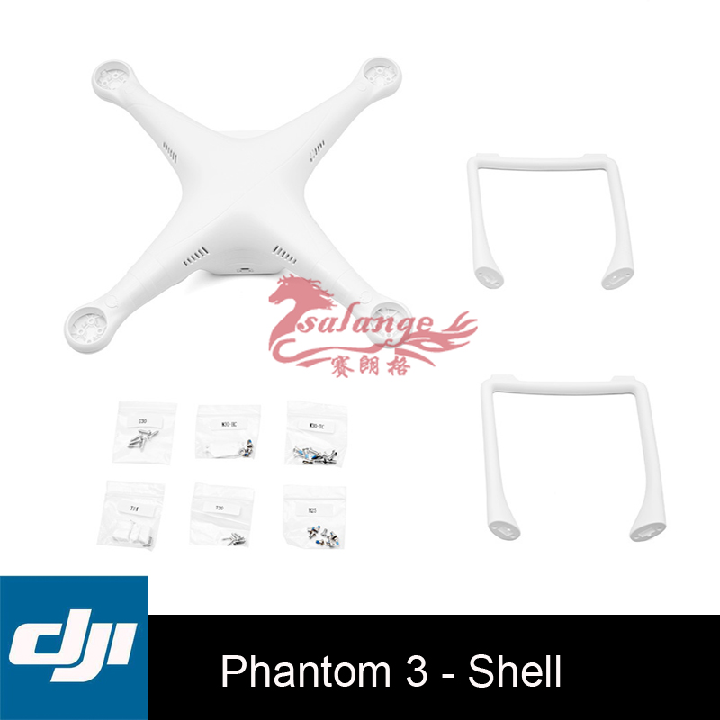 Original DJI Phantom 3 Body Shell  Repairable Part for the Quadcopter include Cover Landing Gear Screw краска в д finncolor oasis hall