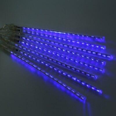 30 см LED водонепроницаемый метеорный поток строка моросящего дождя трубки декоративные  ...