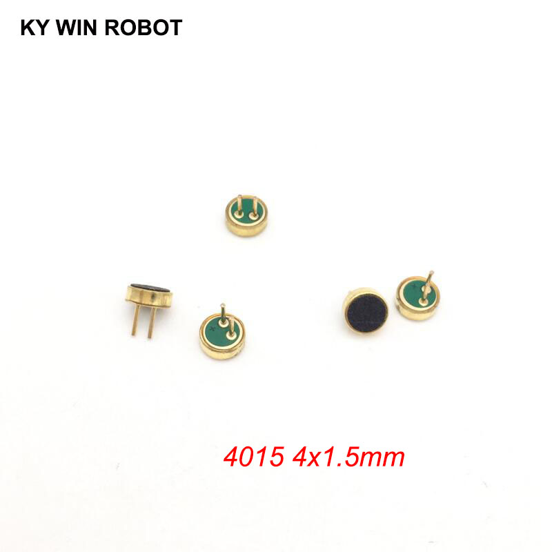 5 PCS/LOT 4x1.5mm 4015 Microphone Electret Microphone With 2 Pin Pick-up