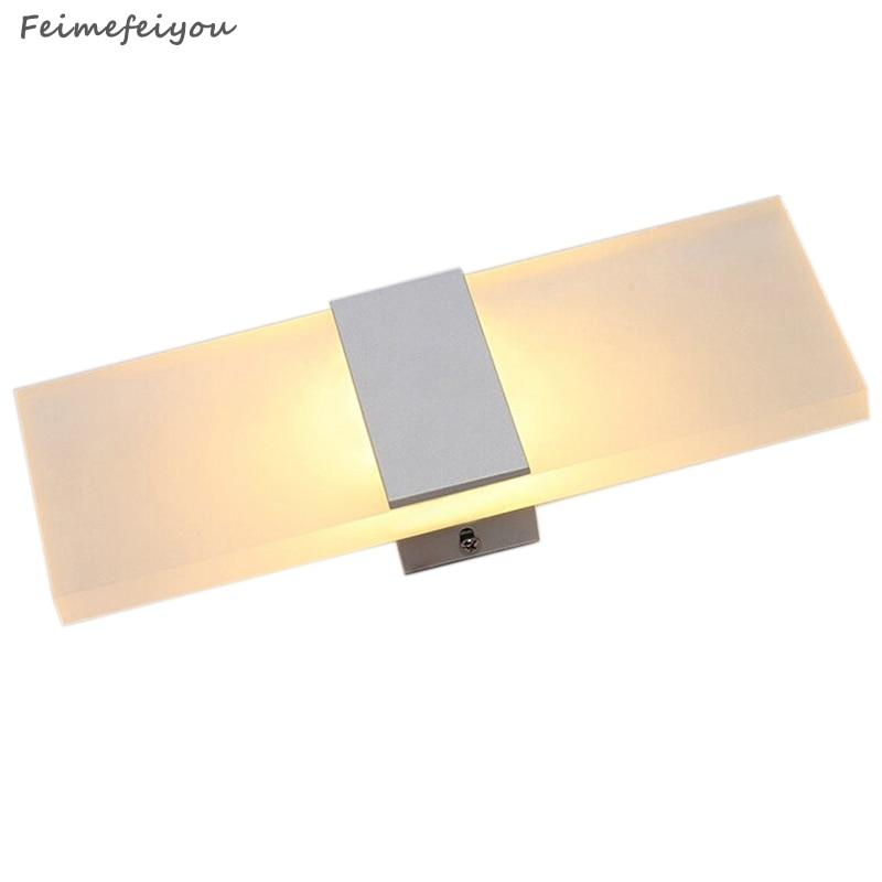 Feimefeiyou Mini 3/6/12 / 18W Led akrila sienas lampa AC85-265V 14CM - Iekštelpu apgaismojums - Foto 3