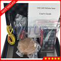 YHT200 Leeb Измеритель Твердости алюминиевый корпус ручной инструмент для испытания твердости дюрометр 600 групп Память данных