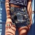 Богемный Печати Шорты ZANZEA Женщины Шорты 2017 Летняя Мода Свободные Эластичный Высокой Талией Кисточкой Sexy Hot Шорты Горячей Продажи