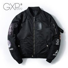 Spring Military Jacket Men with Number on Back 2018 Polyester Fashion Jackets Standard Baseball Cloth GXP1999 A912