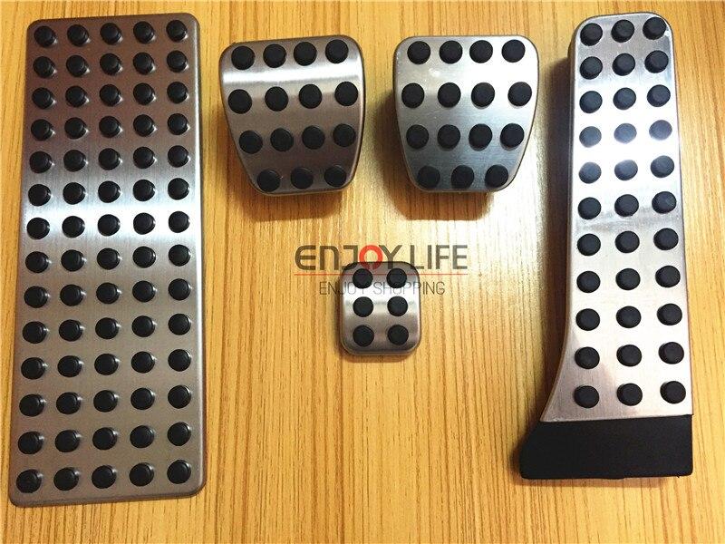 MT Gas Brake Footrest Foot Pedal For Mercedes Benz C E S GLK SLK CLS SL W222 W211 W212 W172 R172 R231 W203 W204 W205 X204 W218