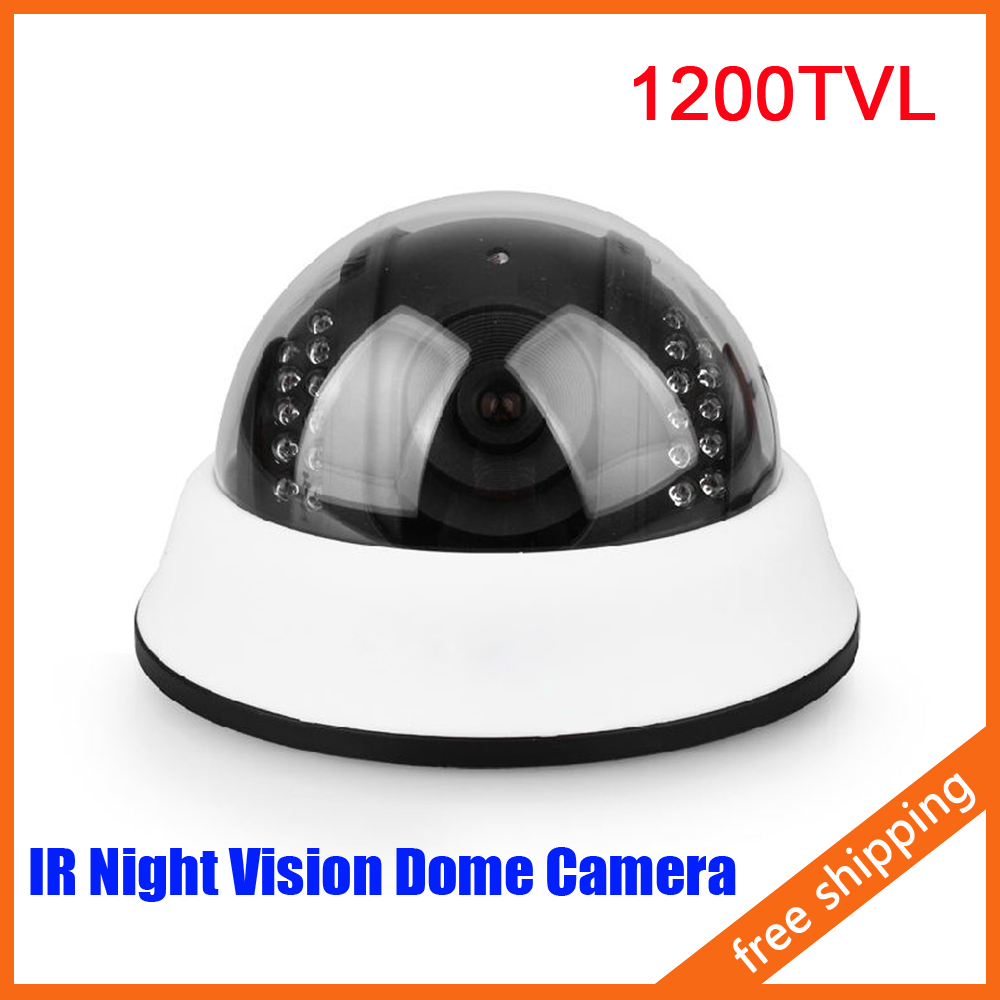 ФОТО HD 1200 Line Dome Camera Infrared Night Vision Security Camera