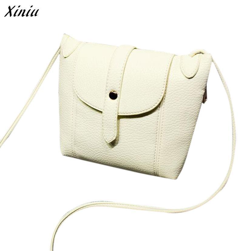 Women Handbag PU Leather Fashion Hasp Cross Body Shoulder Messenger Bag Bolsa Mujer bags handbags women famous brands #0