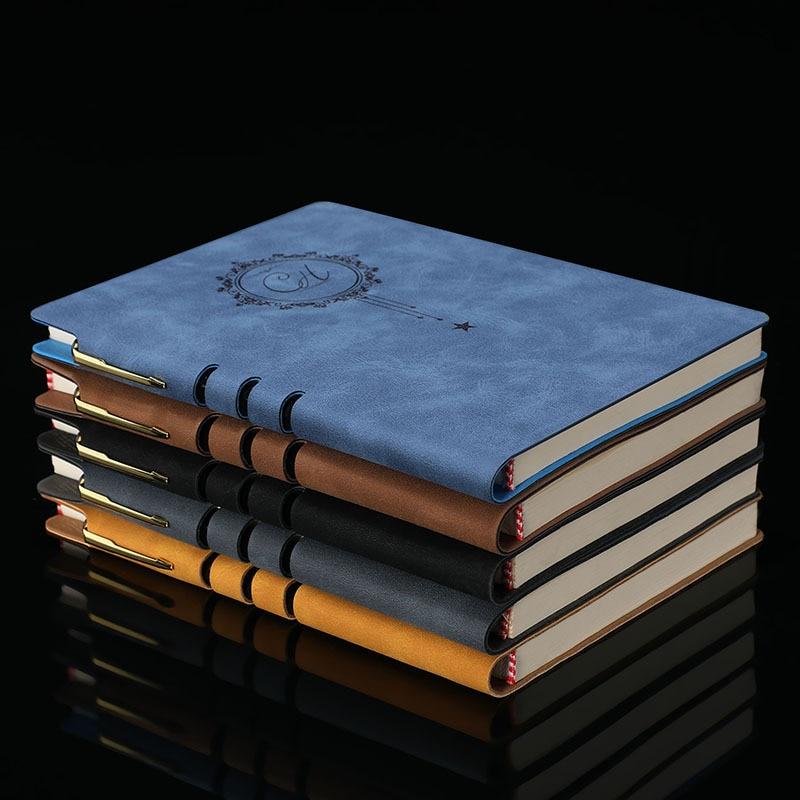 Notebook Schreibwaren Leder Business-Meeting Rekord A5 Papier Wasserdicht Tagebuch Notizblock Planer Kugel Journal agenda Geschenk büro