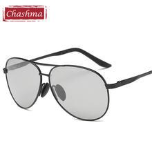 Мужские солнцезащитные очки для близорукости chashma большие