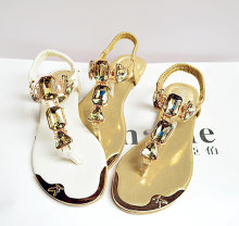 Женские сандалии шлепанцы crystalr женская обувь на плоской