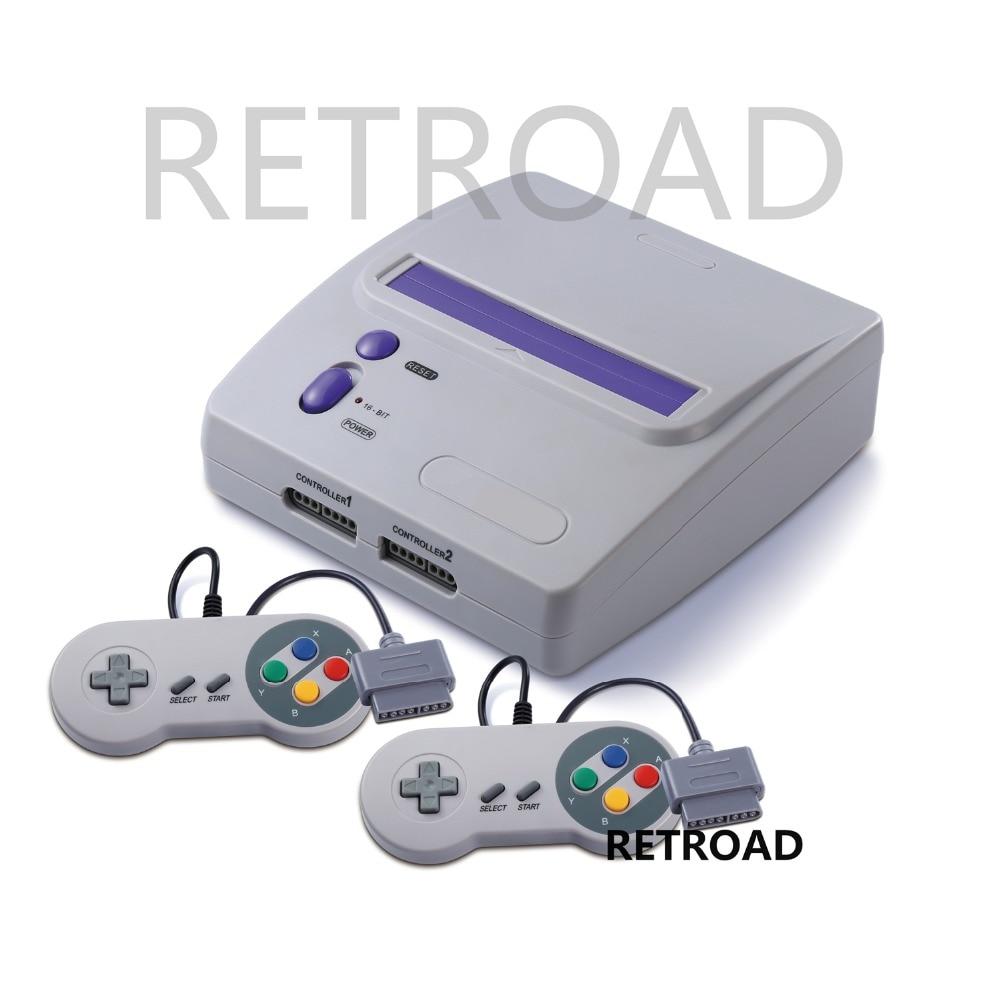 RETROAD 16-bit System console Play Super NES Games
