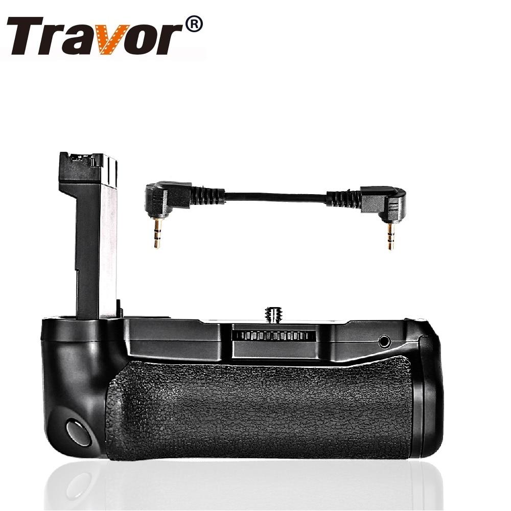 Travor Caméra Vertical Batterie Grip Pour Canon Rebel 800D 77D T7i Baiser X9i EOS DSLR Batterie Poignée Travail Avec LP-E17
