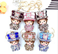 Monchhichi Magic Gentleman Style Extremely Cute Keychain Pendant For Handbag Charms Purse Ornament Accessory