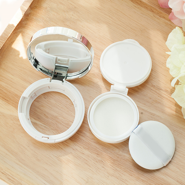 Us 66 41 19 Off 15pcs Lot Air Cushion Empty Box Diy Liquid Foundation Empty Bb Cream Container Plastic Air Cushion Cream With Replace Case In