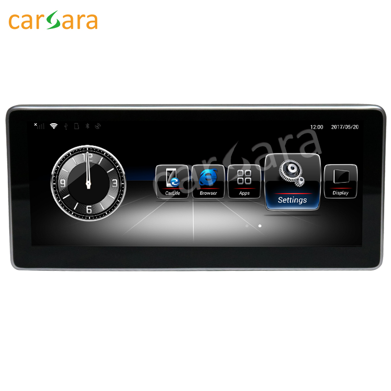 10.25 Android monitor for Benz B Class W246 2012-2015 with NTG 4.5 touch screen GPS Navigation multimedia player