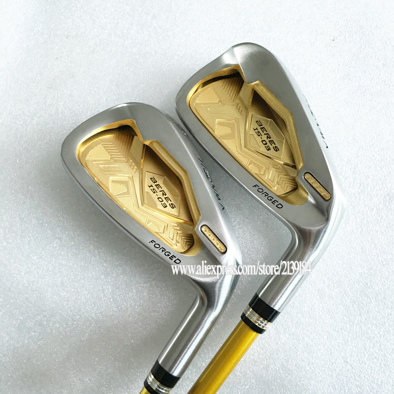 Cooyute New Golf Clubs HONMA irons S-03 4star Golf irons set 4-11.Aw.Sw Clubs irons Graphite Golf shaft R Flex Free shipping womens golf clubs maruman rz complete clubs set driver fairway wood irons graphite golf shaft and cover no ball packs