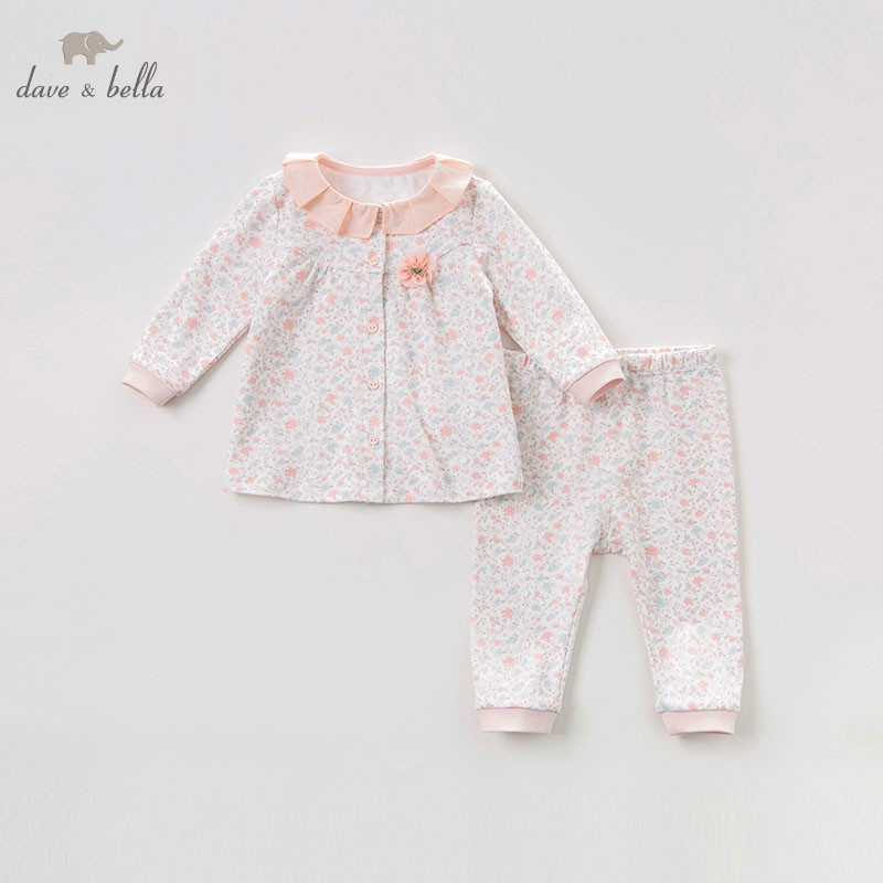 DB9624 dave bella autumn baby girls clothes fashion floral clothing sets girls lovely long sleeve suits children print clothesDB9624 dave bella autumn baby girls clothes fashion floral clothing sets girls lovely long sleeve suits children print clothes
