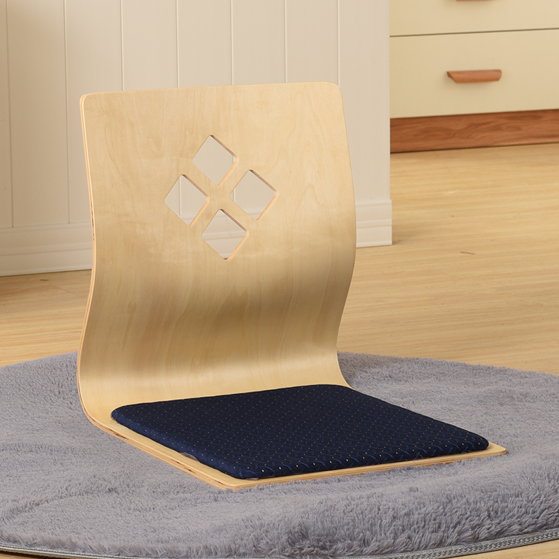 (2pcs/lot) TATA Japanese Korean Seating Zaisu Chair Living Room Furniture Asian Traditional Tatami Floor Legless Chair Seat
