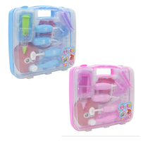 Children's doctor nurse oral cavity small dentists every home toy set simulation stethoscope medical kit suitcase