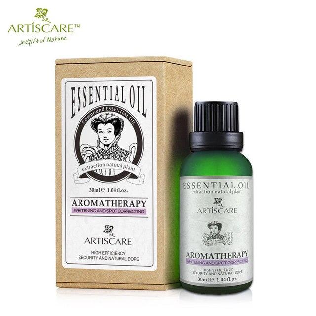 Essential oils for ageing facial skin massage