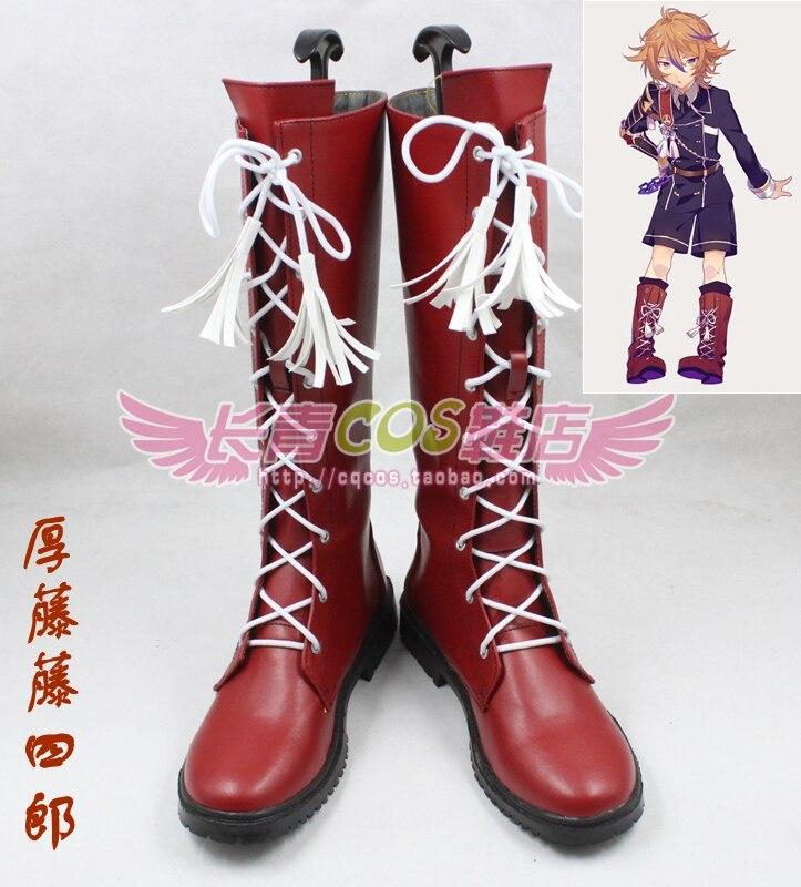 ONLINE Touken Ranbu Online gotoutoushirou cosplay shoes boots Custom-Made 3456
